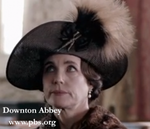 downton Abbey at pbs.org has fantastic feathers
